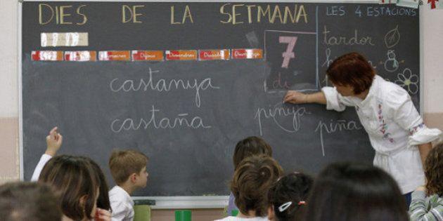 El TSJC obliga a cinco colegios catalanes a impartir el 25% de las clases en