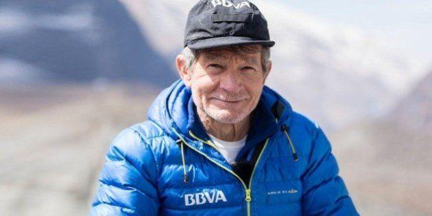 Carlos Soria hace cima en el Annapurna a los 77