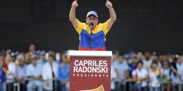 Chavez y Capriles encaran la recta final de la campaña con duros ataques