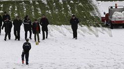 Suspendido el Osasuna-Zaragoza por el temporal de nieve
