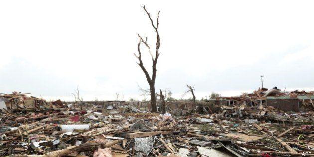 Uno de los tornados de Oklahoma fue el más ancho de la historia de