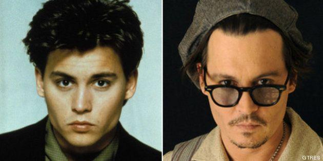 Johnny Depp cumple 50 años: su evolución, en