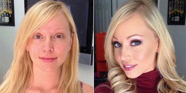 Actrices porno sin maquillar: más fotos de la serie de Melissa