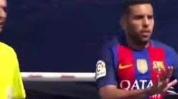 La falta de respeto de Jordi Alba con el portero del Leganés: