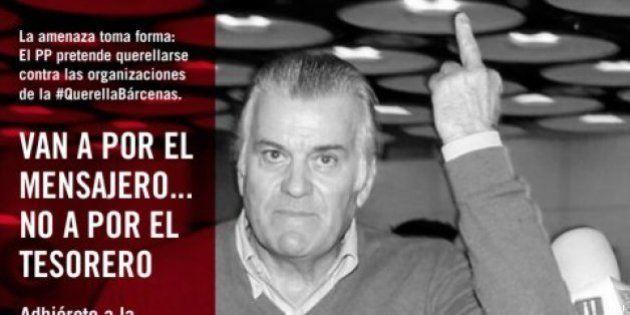 El PP demanda a las organizaciones de la querella por los 'papeles de Bárcenas' por injurias y