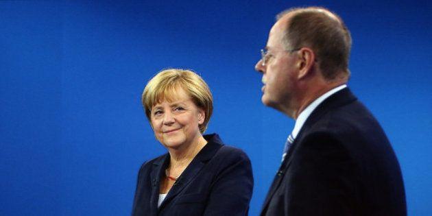 Debate electoral en Alemania: El socialdemócrata Steinbrück no consigue imponerse a