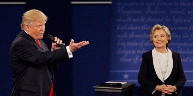 Donald Trump y Hillary Clinton 'cantan' a lo 'Dirty Dancing' y se vuelve