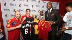 La selección española, con los Miami Heat
