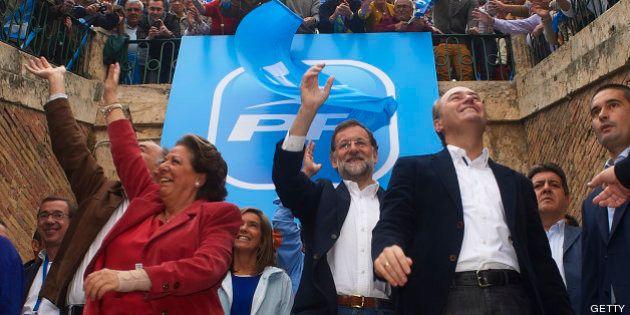 Rajoy vuelve a Valencia: Este es el PP salpicado de escándalos con el que se
