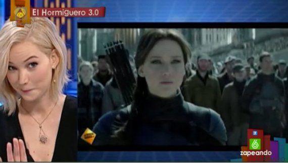 Jennifer Lawrence al escuchar su voz en español: