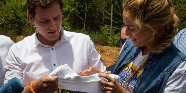 Rivera defiende que Ciudadanos va a Venezuela a