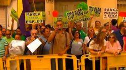 Abucheos a la reina en Murcia