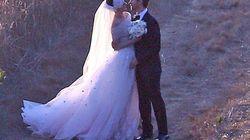 Catwoman se casa con vestido de princesa