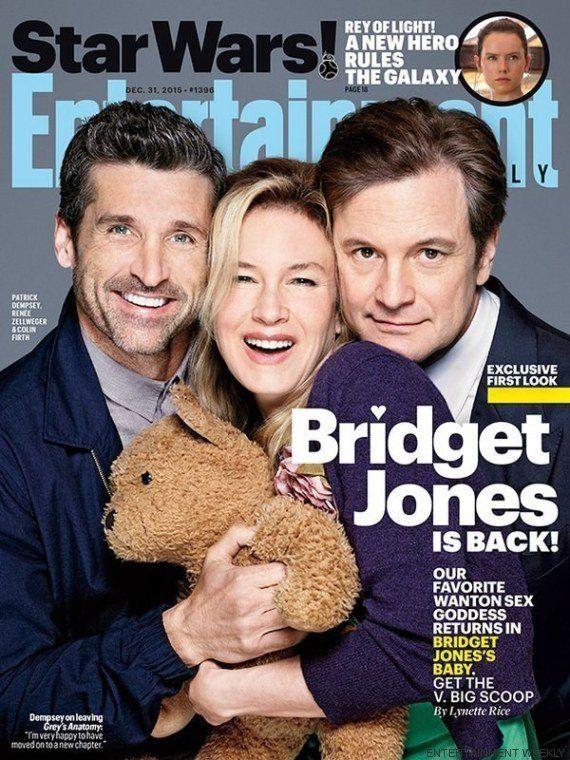 Primera imagen de los tres protagonistas de 'Bridget Jones