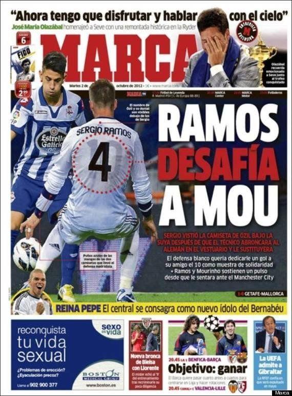 Sergio Ramos, amigo de Özil y admirador de
