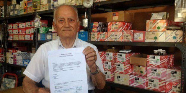 Un jubilado dona su pensión al Gobierno