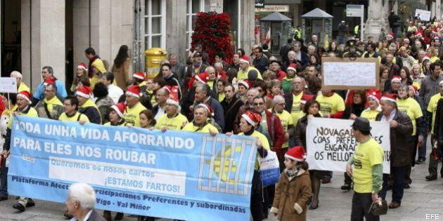 Los preferentistas de Catalunya Banc y Novagalicia sufrirán una quita adicional de casi el