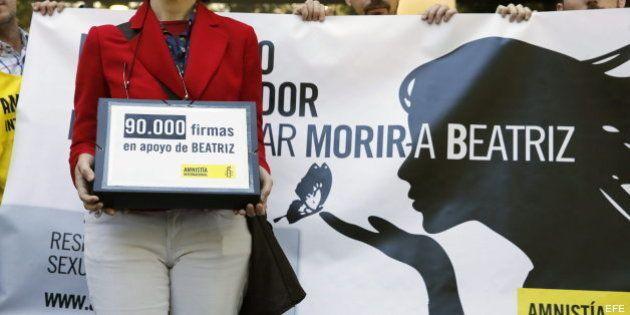 Beatriz, la joven salvadoreña a la que se le había denegado el aborto, vuelve a casa tras su