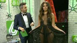 David Muñoz se come las uvas... con este vestido de Pedroche puesto