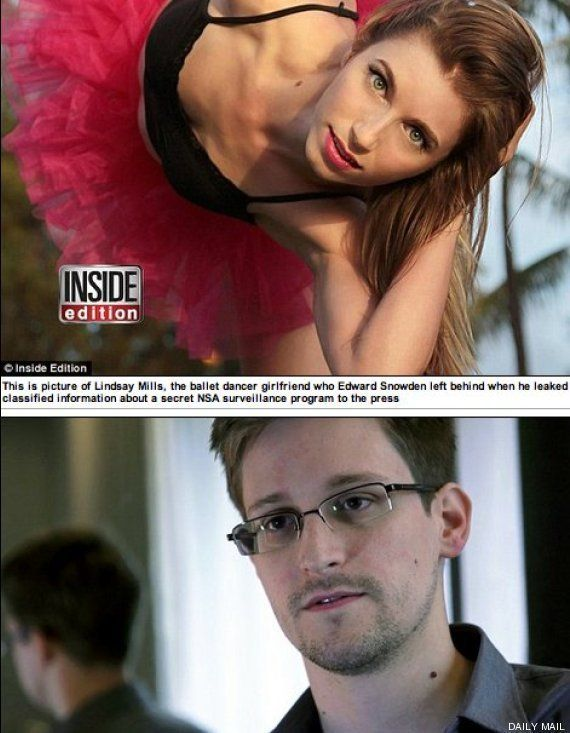 Lindsay Mills: la novia a la que Edward Snowden plantó
