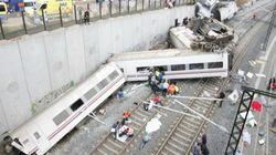 Las imágenes del accidente de Santiago