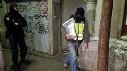 Cinco detenidos en una operación contra el terrorismo islamista en