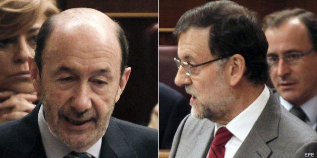 Rajoy y Rubalcaba acercan posturas para un pacto de cara al Consejo