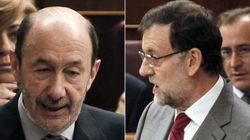 Rajoy y Rubalcaba acercan