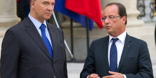 El presidente de Francia, François Hollande, pide que no se cuestione la permanencia de Grecia en el