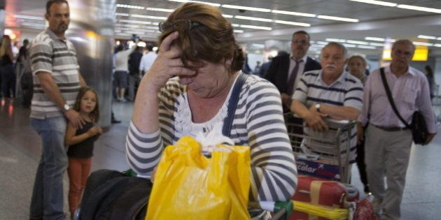Quince heridos en un vuelo Madrid-Sao Paulo por fuertes