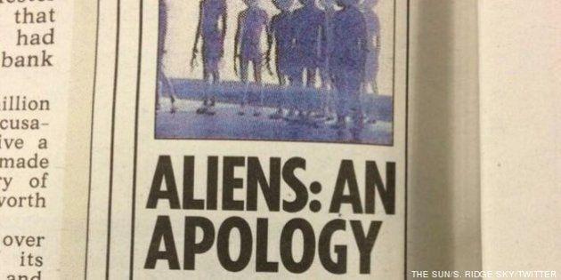 The Sun se disculpa con los