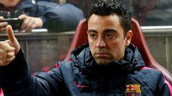 La 'rajada' de Xavi contra el Atlético de