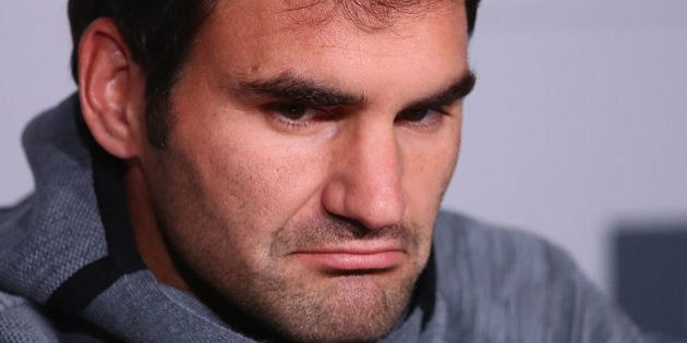 Federer, baja en el Masters de Madrid en su año más