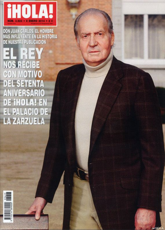 Revista 'Hola': el Rey protagoniza su portada del 70 aniversario