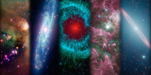 Telescopio Espacial Spitzer, feliz cumpleaños: lo mejor de diez años mirando al cielo