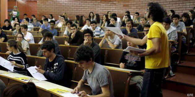 Abren expediente por las erratas en los exámenes de selectividad en