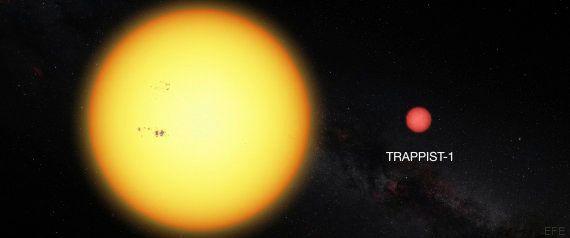 Un grupo de científicos descubre tres planetas habitables parecidos a la