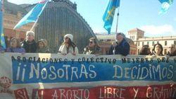 Decenas de miles marchan en Madrid contra la ley del aborto de