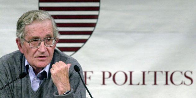 Noam Chomsky sobre Siria: