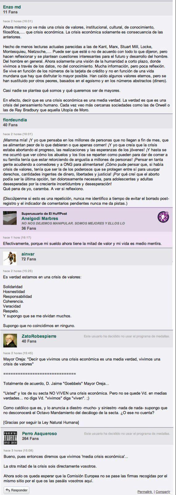 La Comunidad de ElHuffPost opina: los comentarios de la semana del 8 al 14 de