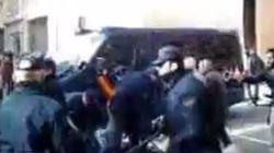 Tres detenidos y seis heridos en Valladolid tras una protesta contra el PP