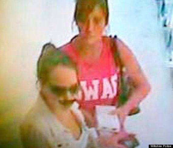 La policía británica busca a una ladrona con