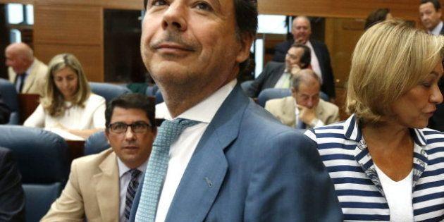 Ignacio González, presidente de la Comunidad de Madrid, apoya