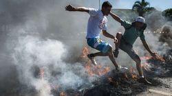 Tensión social en Brasil antes de la Copa