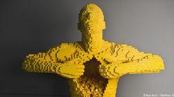 Esto es arte hecho con piezas de Lego