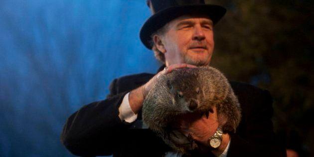 La marmota Phil pronostica un invierno largo en Estados