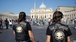 Las Harley-Davidson 'invaden' el Vaticano