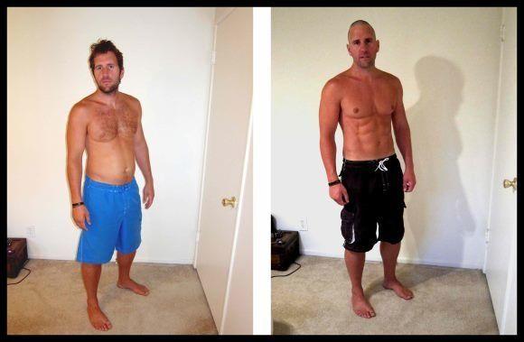 La verdad de las fotos del antes y después de una transformación física