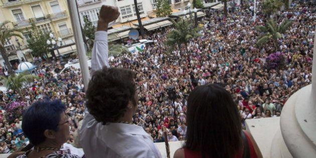 El alcalde de Cádiz cambia el retrato de Juan Carlos I por el del anarquista