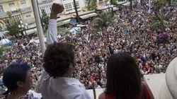 'Kichi' cambia el retrato de Juan Carlos I por el del anarquista
